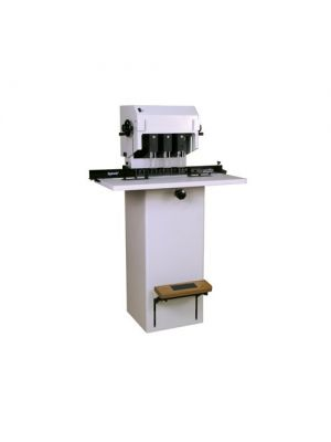 Spinnit FMM-3 Manual Lift 3 Spindle Paper Drill, Spinnit FMM-3, Spinnit FMM-3 paper drill, Spinnit 3 spindle paper drill