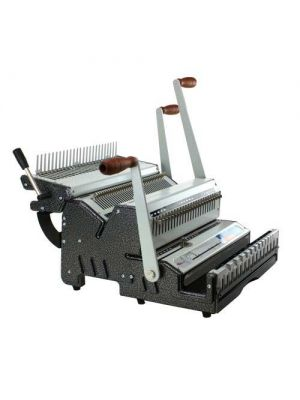 Akiles DuoMac C41 Plastic Comb and 4:1 Coil Binding Equipment